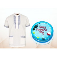 Fotua & Cake Combo For Father's Day