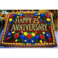 2 KG Square Shape Cake- Coopers Bangladesh