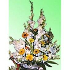 Beautiful Orchid Basket