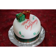 2 kg Special Vanilla Cake for Christmas