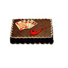 Chocolate Flavor Player's Cake From CFC Bangladesh(1Kg)