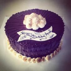 Special Birthday Chocolate Flavor Cake(2Kg)