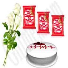 3 White Rose Love