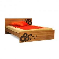 BED DOUBLE ALL OAK