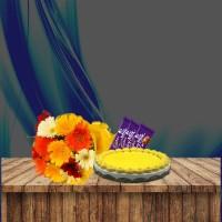 Gerbera Flower Bouquet Combo