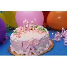 1Kg Round Shape Cake- Shumi's