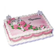 1 KG Square Shape Cake- Sonargaon