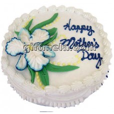 1KG Special Mothers Day Vanilla Flavor Cake From Shumi's Hot Cake Bangladesh