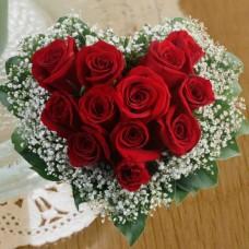 Hand Shape Rose Bouquet