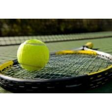 Tennis Bat and Ball