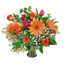 Gerbera rose bouquet for valentine day special